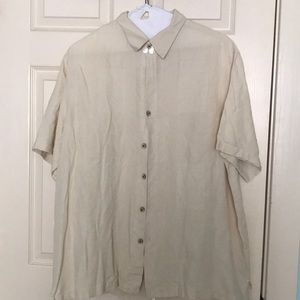 Men's casual button down by Caribbean